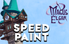 Magus Elgar Pitch Cover Speedpaint