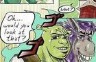 Shrek Donkey meets Jotaro Kujo and his Jojo friends