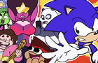Sonic Meets Cartoon Network All-Stars