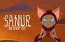 Sanur the desert cat