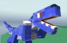 Blocky Dino Park: Raptor Attack