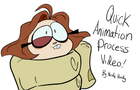 Ollie and Scoops - Quick Animation Process Video 2