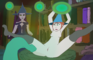 Sorceress testing her Tentacle Breeding spell on the new Apprentice!