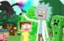 Minecraft x Rick and Morty (Parody Animation)