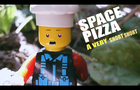 LEGO SPACE PIZZA: A very short short-- 4K (my first brickfilm!)