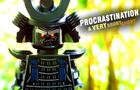 LEGO PROCRASTINATION: A Very Short Short --4K