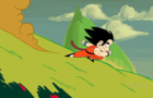 Kid goku (short animation)
