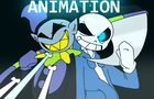 [UNDERTALE/DELTARUNE FANIMATION] SANS VS JEVIL