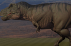 Tyrannosaurus Walk Cycle (Blender 2.8)