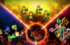 SMBZ Battle Remake: Team Mario VS. Koopa Bros. VS. Axem Rangers (REUPLOAD