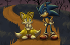 Sonic tells the scariest Halloween story ever