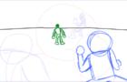 Blue vs Green (Rough Animation)