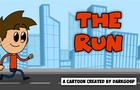 The Run. A cartoon animation