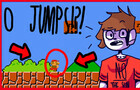 BEATING MARIO WITHOUT JUMPING?!?!?!11!?(not clickbait) INSANE