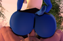 lucario bouncy butt