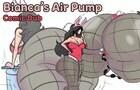 Bianca's Air Pump Comic Dub - Butt Expansion