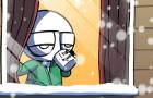 "Loading Artist Animated - ""Abdominal Snowman"""