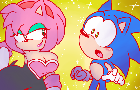 Sonic Meets Amy Rouge