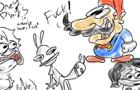 OneyPlays Animated: Mario says the F Word