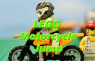 LEGO Motorcycle Jump