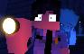 Allie x Security Guy (18+ Minecraft Animation)