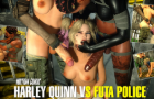 HARLEY QUINN VS FUTA POLICE (MOTION COMIC) [ZULEYKA GAMES]