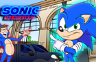 Basically Sonic the Hedgehog's Redesign (Sonic Movie ANIMATION)