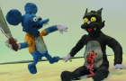 Itchy & Scratchy - STOPMOTION film