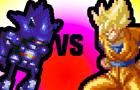 Mecha Sonic vs Super Sayian Goku