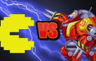 Pacman vs Death Egg Robot (Super Smash Bros)
