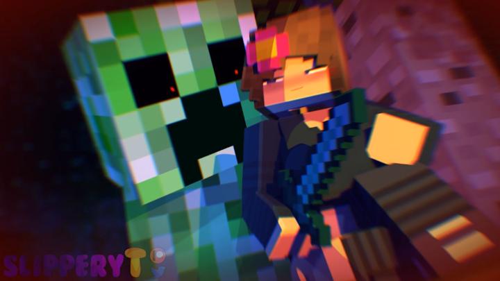 Jenny X Creeper Minecraft 18