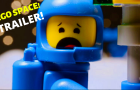 LEGO SPACE! Stop Motion Movie Teaser Trailer!