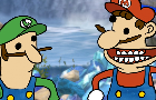 Mario hates his broother