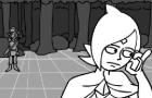 GameGrumps animatic- Almost human
