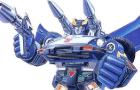 Transformers Autobot Bluestreak Stop-Motion Transformation