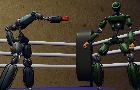 Robot boxing toy : Battle for battery
