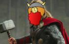 Thor goes to Asgard