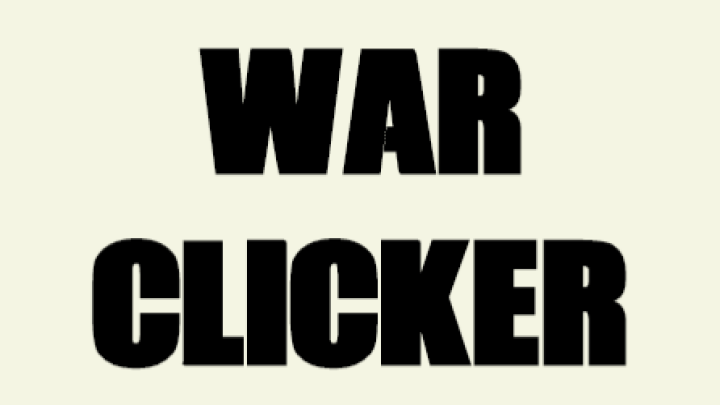War Clicker