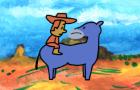 Backwards Horse