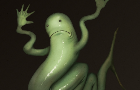 Wobbly wiggly worm idle animation