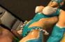 Rainbow Mika crotch massage