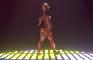 Gazelle Dancing Nude [almost nude!]