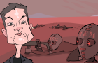 Musk till Dawn on the Red Planet