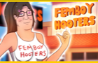 Hank Hill works at Femboy Hooters