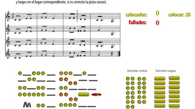 SONIDOS CORTOS Y LARGOS