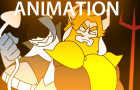 ASGORE VS CHAOS KING [UNDERTALE VS DELTARUNE ANIMATION]