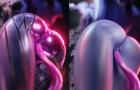Widow Showering + sneaky tentacle _ Full
