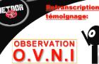 (Ufologie) Observation OVNI
