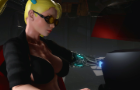 Cyberpunk RMR: Marie Rose and Futa Rainbow Mika