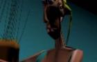 """Dawn of the Dead """"Beach Scene"""") - 3D Animation"""